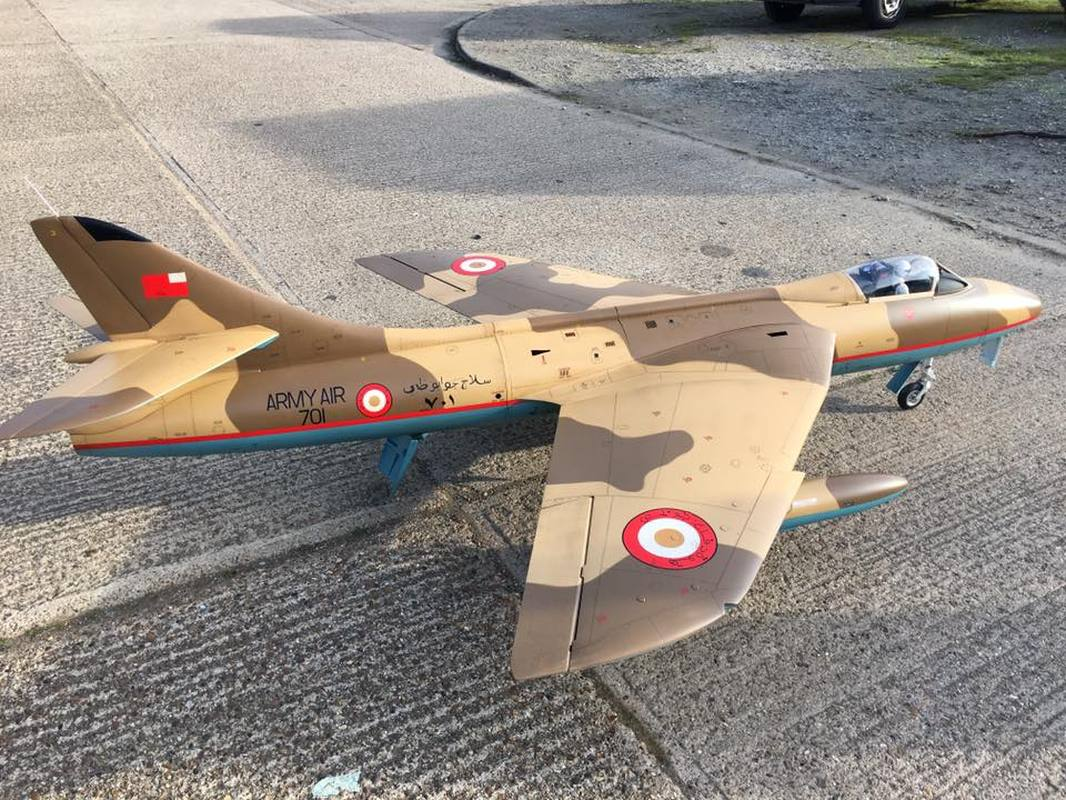 Hawker Hunter 2.4m span