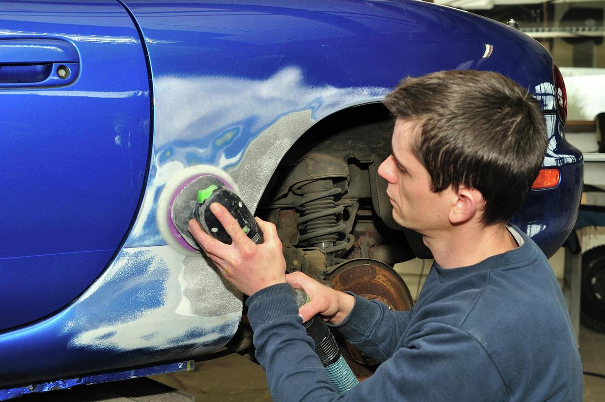 Car and van dent repairs in Cheltenham by ABC Services