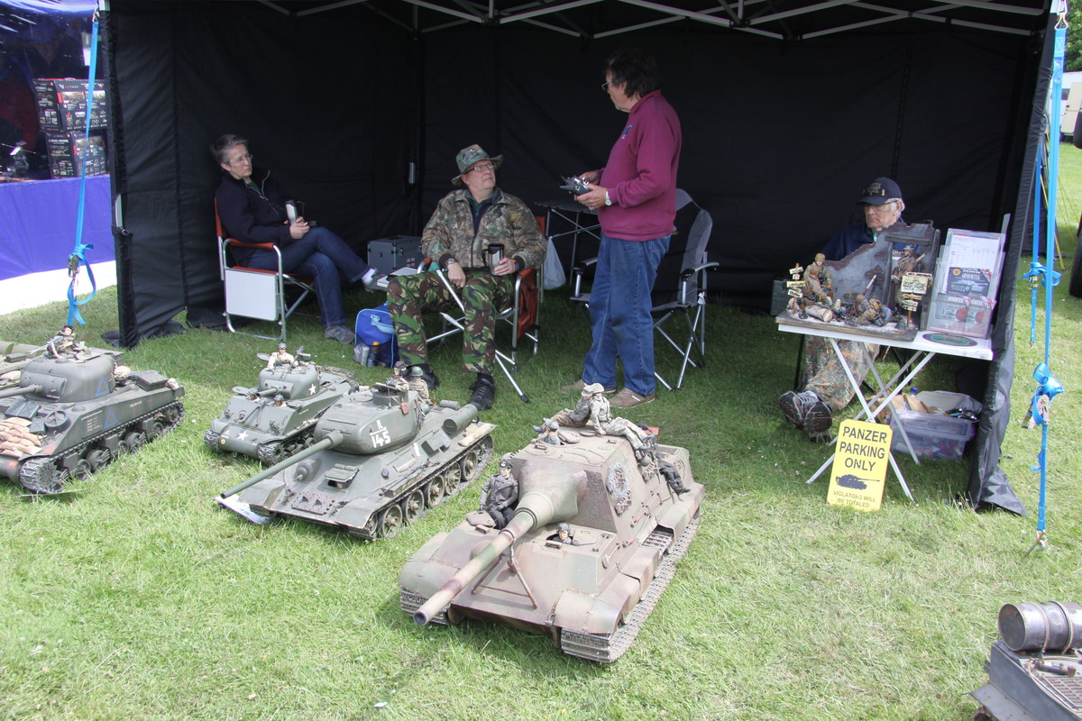 UK Tank Club stand at the Show