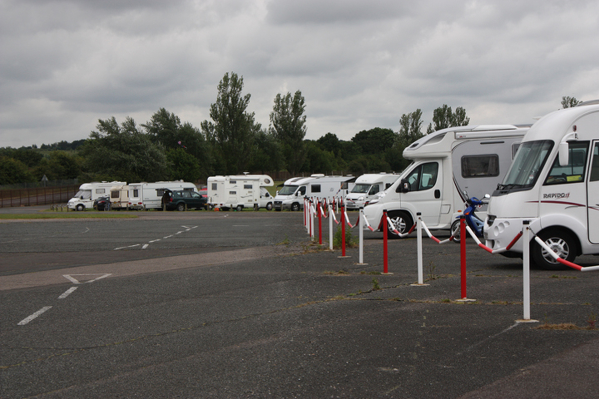 There is also plenty of hardstanding for campervans if required.