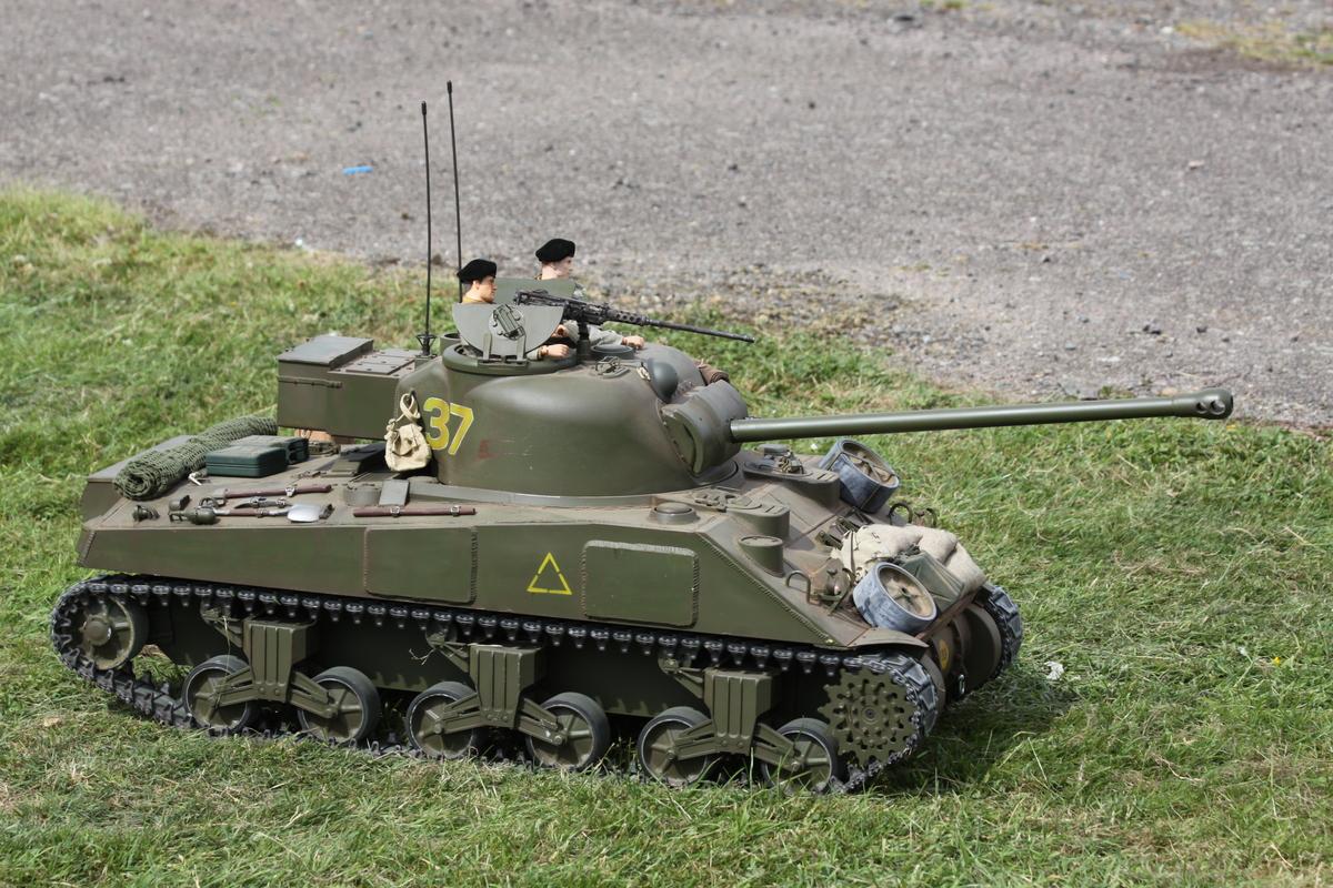 Lifelike tank!